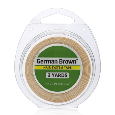 Toptan German Brown Protez Saç Bandı 3 Yards